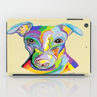 greyhound iPad Cases featuring Greyhound by EloiseArt