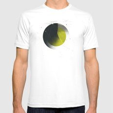 Shadow MEDIUM Mens Fitted Tee White