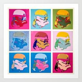 Clones Art Print