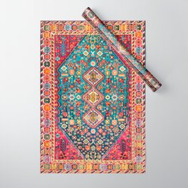 N131 - Heritage Oriental Vintage Traditional Moroccan Style Design Wrapping Paper