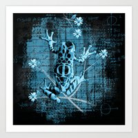 fringe Art Prints featuring Fringe by Veruca Crews