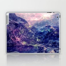 Galaxy Mountains : Deep Pastels Laptop & iPad Skin