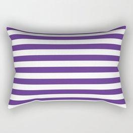 Purple and white university clemson alumni team sports football college Rectangular Pillow