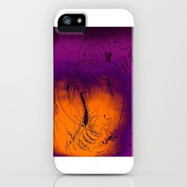 Spiderwebs iPhone Case