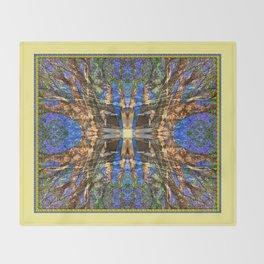 MADRONA TREE MANDALA Throw Blanket