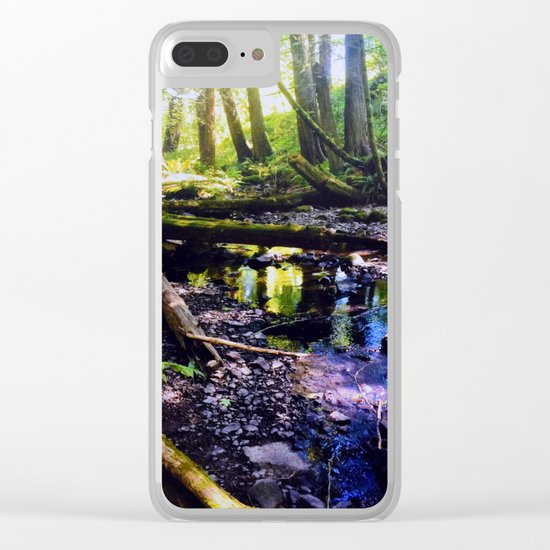 Happy Valley Clear iPhone Case