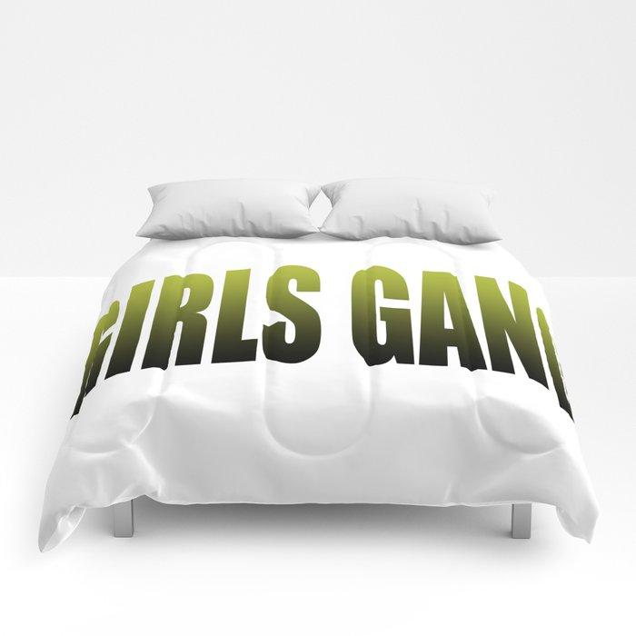 girls gang Comforters
