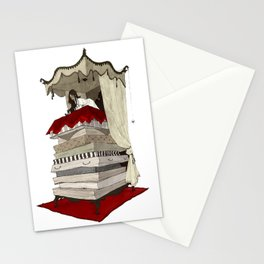 The Princess and the Pea Stationery Cards