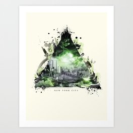 The Essence of New York City Art Print