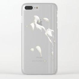 Sensual Dance white   Danse Sensuelle blanche Clear iPhone Case