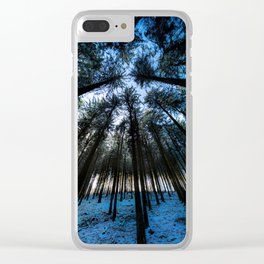 Oblivion Forest                   ( color ) Clear iPhone Case