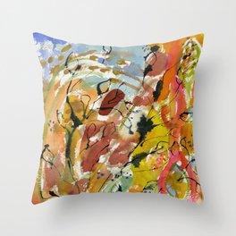 Summer Day Throw Pillow