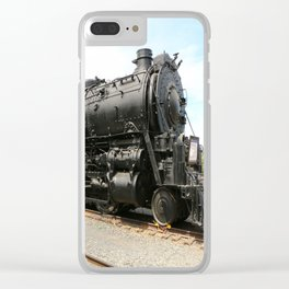 Steam Locomotive Number 5021 Sacramento Clear iPhone Case