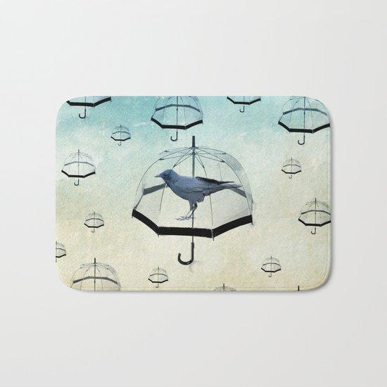 raven rain Bath Mat
