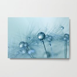 Powder Blue Metal Print