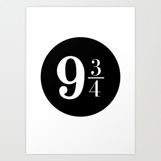 Platform 9 3 4 Art Print By Raeuberstochter Society6
