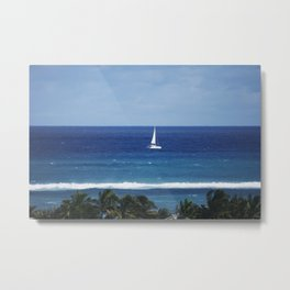 Bahamas Cruise Series 120 Metal Print