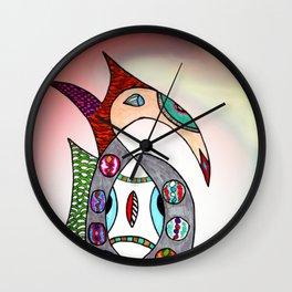 fantastic geometrical forms -13- Wall Clock