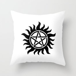 Anti-possession sigil Throw Pillow