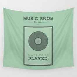 Made to be Played — Music Snob Tip #33⅓ A Wall Tapestry