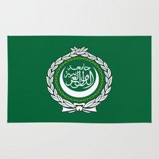 Arab League flag Rug