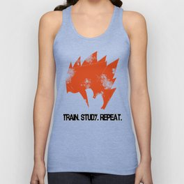 Gohan - Train. Study. Repeat. Unisex Tank Top