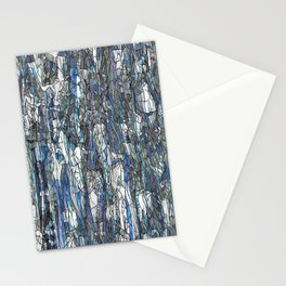 Abstract blue 2 Stationery Cards