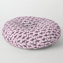 Pattern: Rose-Colored Sharkies ~ (Copyright 2015) Floor Pillow