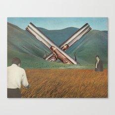 Gunsmoke Canvas Print