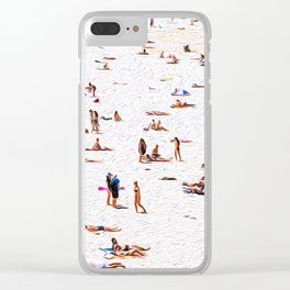Lay out Clear iPhone Case