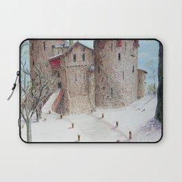 Castell Coch (Red Castle) - Winter Laptop Sleeve