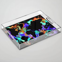 Globe trotter Acrylic Tray