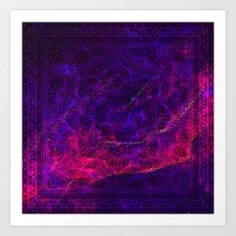 Cosmic mandala #9 Art Print
