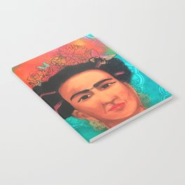 Frida Fragil y fuerte Notebook