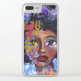 Fearless Clear iPhone Case