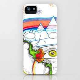it wasnt the point iPhone Case