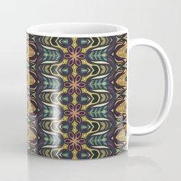 Colorful abstract ethnic floral mandala pattern design Coffee Mug
