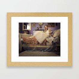 The Sylph Unwinds (I) Framed Art Print