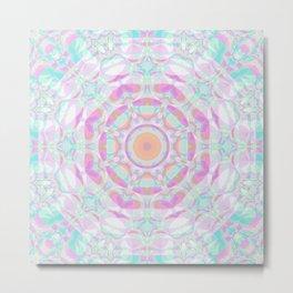 Sparkly Mandala 3 Metal Print