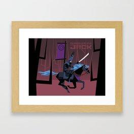 Last Ride of Samurai Jack Framed Art Print