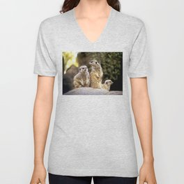 Act Natural Meerkats Unisex V-Neck