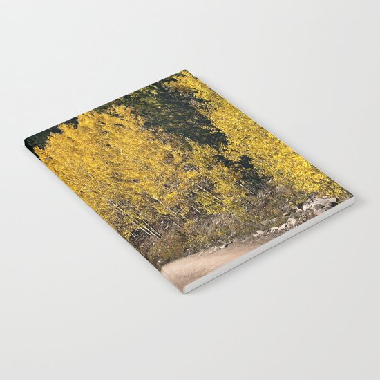 Autumn Road Notebook