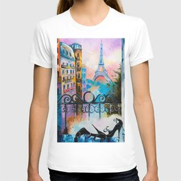 Romantic date in Paris T-shirt