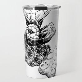 Pediocactus bradyi and gummy bear Travel Mug