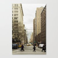 broadway Canvas Prints featuring Broadway by Alexandre1983 Photography