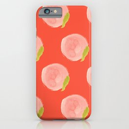 You're a Peach Watercolor Painting iPhone Case