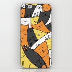The Cats are Watching iPhone & iPod Skin