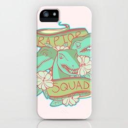Raptor Squad iPhone Case