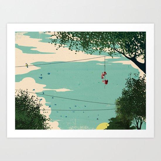 Michael Jordan ESPN Feature 3 Art Print