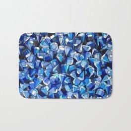 Fond Bleu Bath Mat